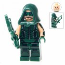 Minifigure Green Arrow DC Comics Super Heroes Compatible Lego Building Blocks Toys