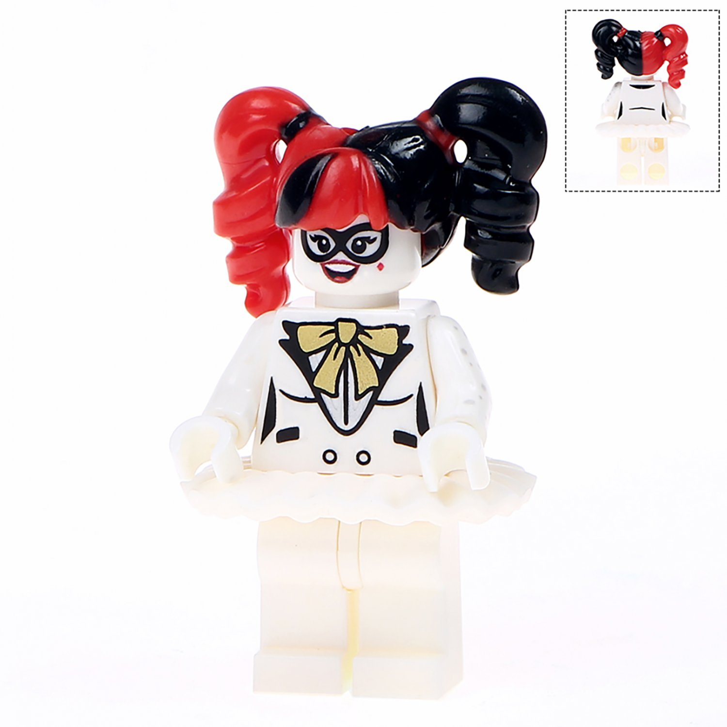 Minifigure Harley Quinn DC Comics Super Heroes Compatible Lego Building Blocks Toys