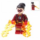 Minifigure Jesse Chambers Quick Flash DC Comics Super Heroes Compatible Lego Building Block Toys
