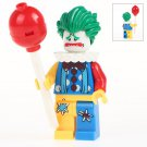 Minifigure Joker Сlown Сostume DC Comics Super Heroes Compatible Lego Building Block Toys