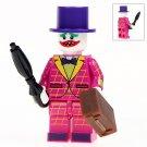 Minifigure Pink Joker DC Comics Super Heroes Compatible Lego Building Block Toys