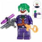 Minifigure Joker with Key DC Comics Super Heroes Compatible Lego Building Block Toys