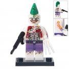 Minifigure Joker Punk DC Comics Super Heroes Compatible Lego Building Block Toys