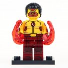Minifigure Kid Flash DC Comics Super Heroes Compatible Lego Building Block Toys