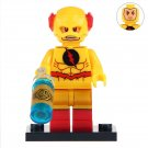 Minifigure Yellow Reverse Flash DC Comics Super Heroes Compatible Lego Building Blocks Toys