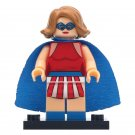 Minifigure Miss America DC Comics Super Heroes Compatible Lego Building Blocks Toys