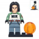 Minifigure Android 17 Dragon Ball Z Compatible Lego Building Blocks Toys