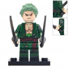 Minifigure Roronoa Zoro from One Piece Compatible Lego Building Blocks Toys
