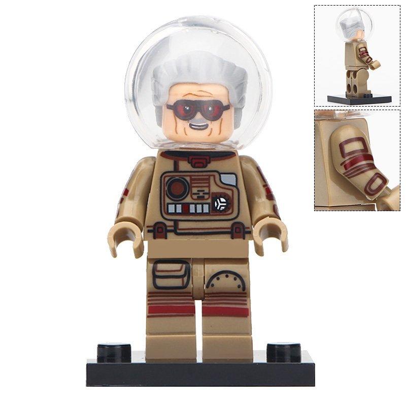 Minifigure Stan Lee Astronaut Compatible Lego Building Blocks Toys