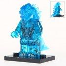 Minifigure Godzilla Blue Color Compatible Lego Building Blocks Toys