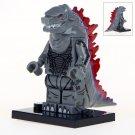 Minifigure Godzilla Gray Color Compatible Lego Building Blocks Toys