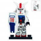 Minifigure Gundam RX79G Compatible Lego Building Blocks Toys