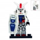Minifigure Gundam RX-78-GP01 Compatible Lego Building Blocks Toys