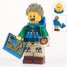 Minifigure Hiker Compatible Lego Building Blocks Toys