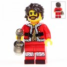 Minifigure Wiley Christmas Santa Compatible Lego Building Blocks Toys