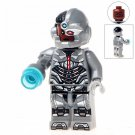 Minifigure Сyborg from Justice League DC Comics Super Heroes Compatible Lego Building Block Toys