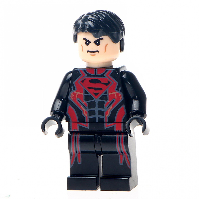 Minifigure Superboy DC Comics Super Heroes Compatible Lego Building Blocks Toys