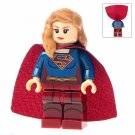 Minifigure Supergirl DC Comics Super Heroes Compatible Lego Building Blocks Toys