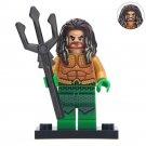 Minifigure Aquaman DC Comics Super Heroes Compatible Lego Building Blocks Toys