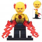 Minifigure Reverse Flash in Helmet DC Comics Super Heroes Compatible Lego Building Blocks Toys