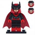Minifigure Batwoman DC Comics Super Heroes Compatible Lego Building Blocks Toys