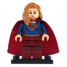 Minifigure Supergirl DC Comics Super Heroes Compatible Lego Building Blocks Toys