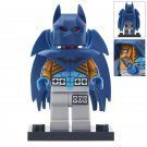 Minifigure Batman with Blue Wings DC Comics Super Heroes Compatible Lego Building Blocks Toys