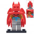 Minifigure Batman with Red Wings DC Comics Super Heroes Compatible Lego Building Blocks Toys