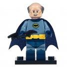 Minifigure Alfred in the Batman Costume DC Comics Super Heroes Compatible Lego Building Blocks Toys