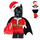 Minifigure Batman Santa Christmas DC Comics Super Heroes Compatible Lego Building Blocks Toys