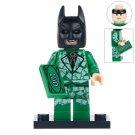 Minifigure Batman Money Costume DC Comics Super Heroes Compatible Lego Building Blocks Toys