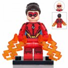 Minifigure Jesse Chambers Quick Flash DC Comics Super Heroes Compatible Lego Building Blocks Toys