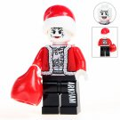 Minifigure Joker Santa Christmas DC Comics Super Heroes Compatible Lego Building Block Toys