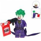 Minifigure Joker BANG DC Comics Super Heroes Compatible Lego Building Block Toys