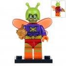 Minifigure Killer Moth DC Comics Super Heroes Compatible Lego Building Block Toys