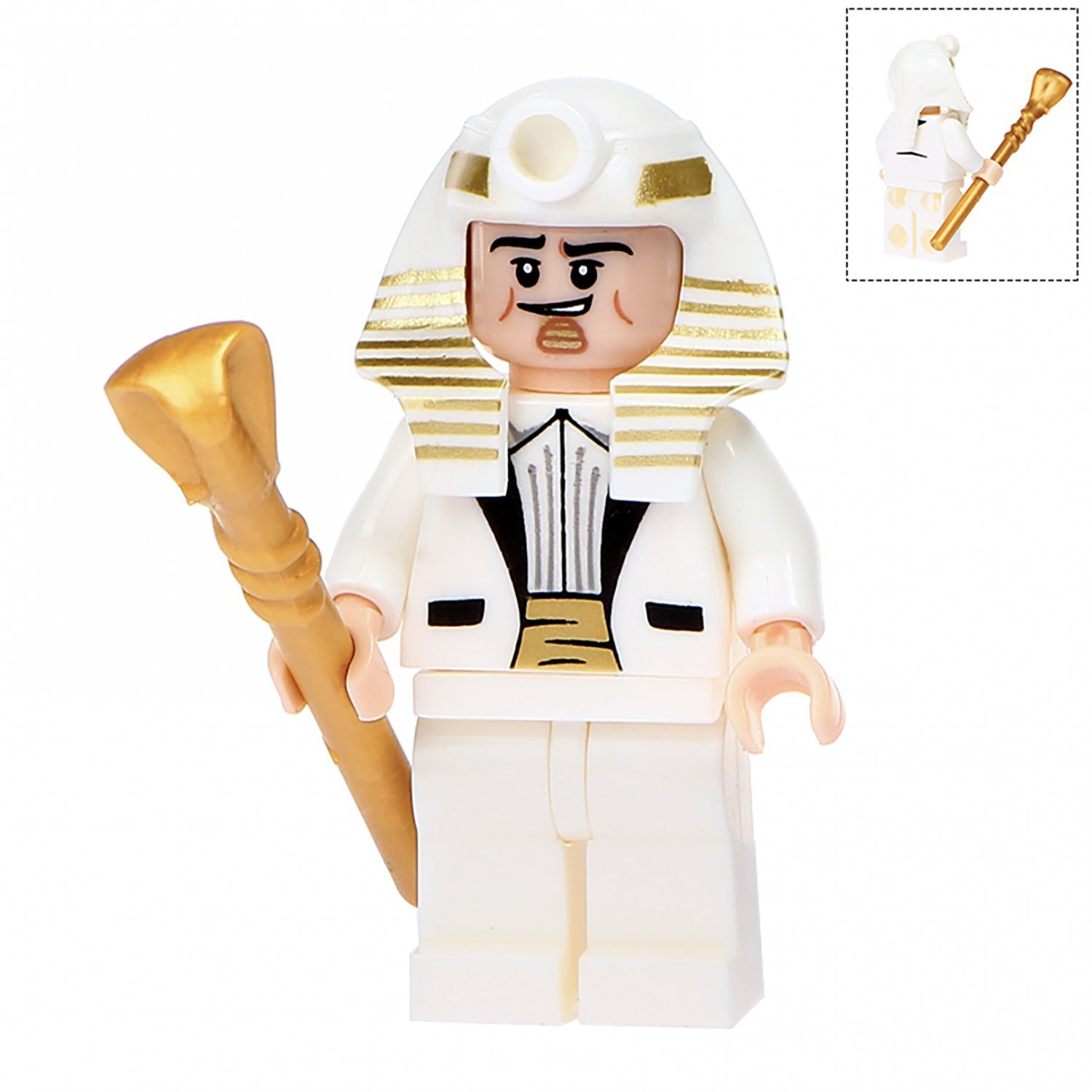 Minifigure King Tut DC Comics Super Heroes Compatible Lego Building Block Toys