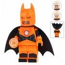 Minifigure Orange Batman DC Comics Super Heroes Compatible Lego Building Blocks Toys