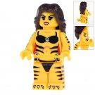 Minifigure Tigress DC Comics Super Heroes Compatible Lego Building Blocks Toys