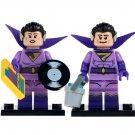 2pcs Set Minifigure Zan & Jayna Wonder Twins DC Comics Super Heroes Compatible Lego Building Block