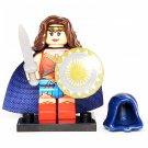Minifigure Wonder Woman DC Comics Super Heroes Compatible Lego Building Blocks Toys