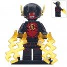 Minifigure Black Flash DC Comics Super Heroes Compatible Lego Building Blocks Toys