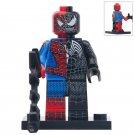 Minifigure Spider-man Venom 50/50 Marvel Super Heroes Compatible Lego Building Block Toys
