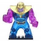 Minifigure Big Thanos Marvel Super Heroes Compatible Lego Building Block Toys