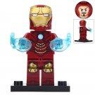 Minifigure Iron Man Mark 4 Costume Marvel Super Heroes Compatible Lego Building Block Toys