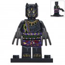 Minifigure T`Chaka Black Panther Marvel Super Heroes Compatible Lego Building Block Toys