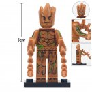 Minifigure Groot Guardians of the Galaxy Marvel Super Heroes Compatible Lego Building Block Toys