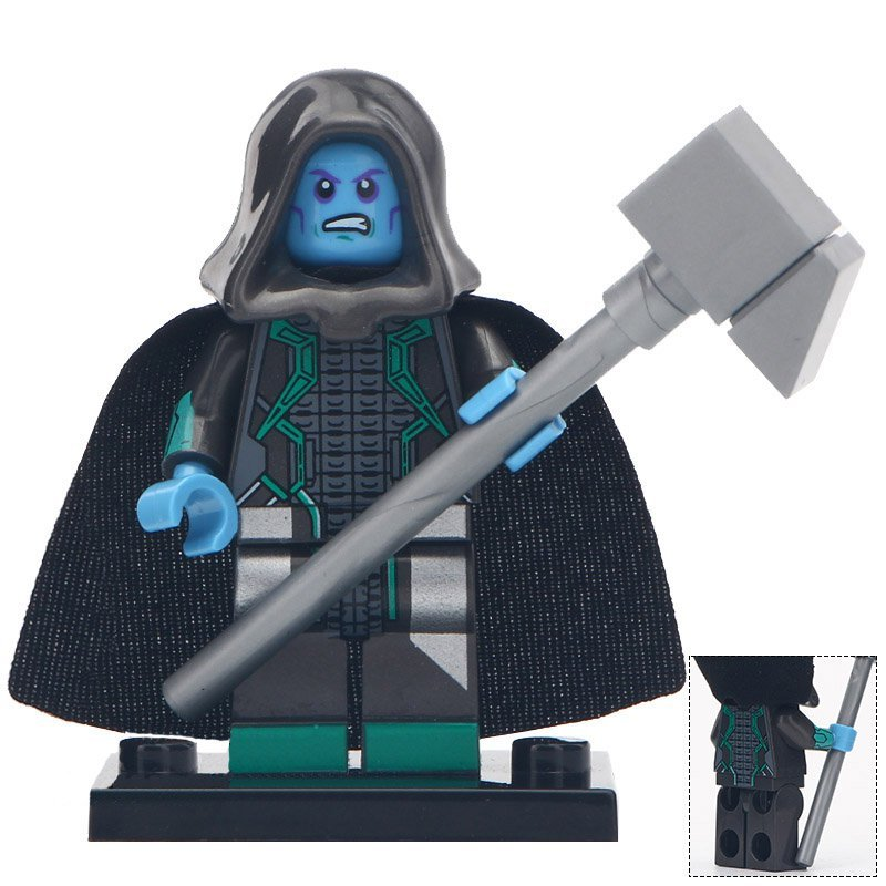 Minifigure Ronan the Accuser Captain Marvel Marvel Super Heroes Compatible Lego Building Block Toys