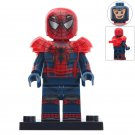 Minifigure Spider-Man with Armor Marvel Super Heroes Compatible Lego Building Block Toys