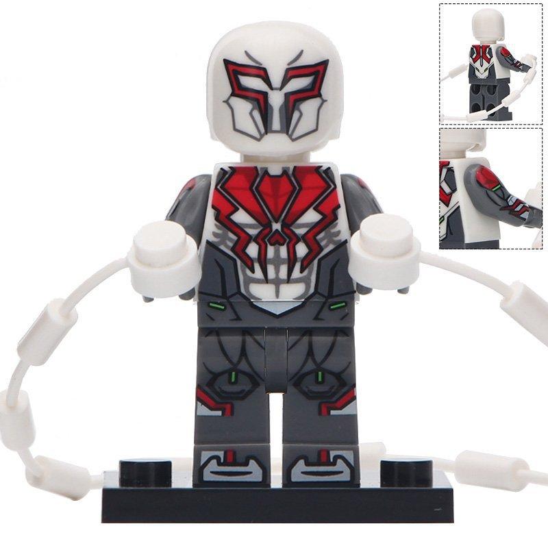 Minifigure White Spider-man 2099 Marvel Super Heroes ...