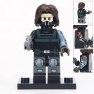 Minifigure Winter Soldier Marvel Super Heroes Compatible Lego Building Block Toys